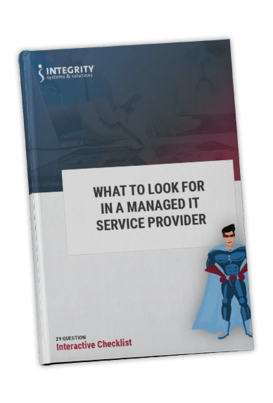 Managed IT Service Provider Checklist