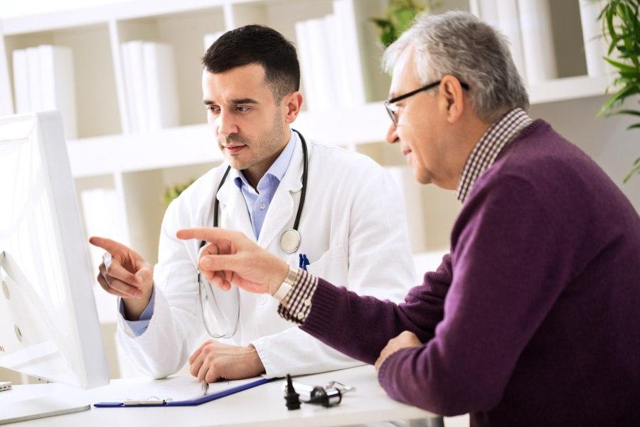 Healthcare practice online backup