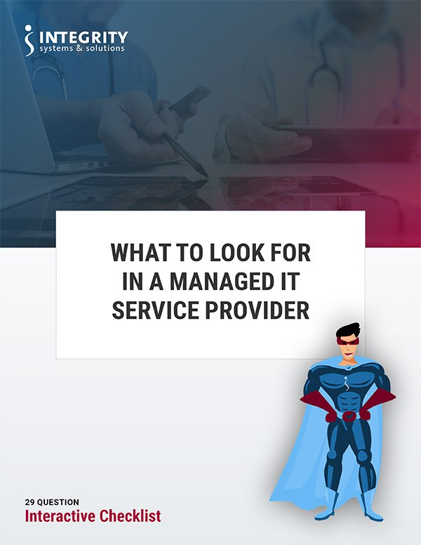 How to Choose a Managed IT Service Provider Checklist